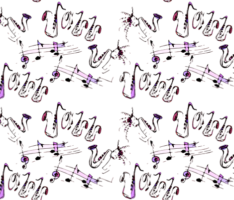 Jazz_1 fabric by tat1 on Spoonflower - custom fabric