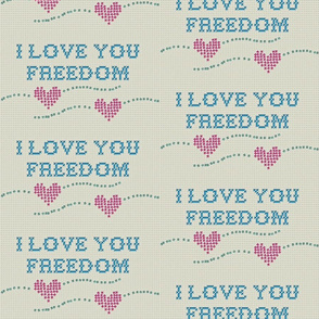 I love you freedom