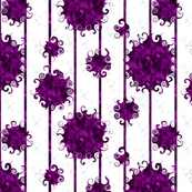 Purple and Black Swirly Balls