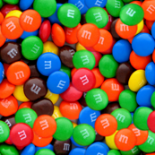 seamless M and M s candy