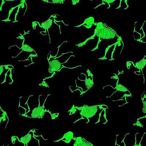Ungulates black/green