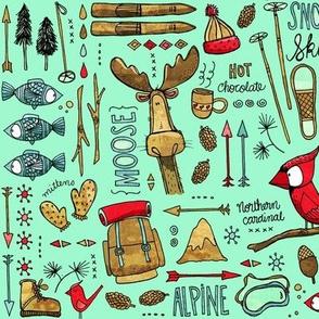 Winter Adventure minty