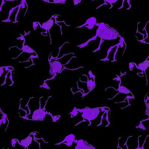 Ungulates black/purple