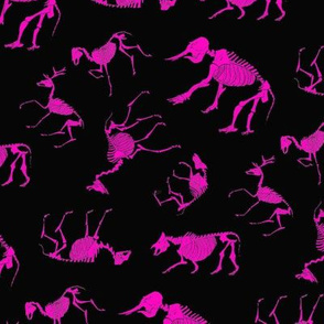 Ungulates black/pink