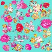 Rrrrrteal_yellow_pink_vintage_floral__shop_thumb