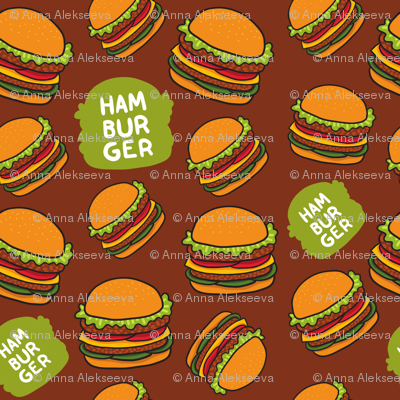 hamburger patten