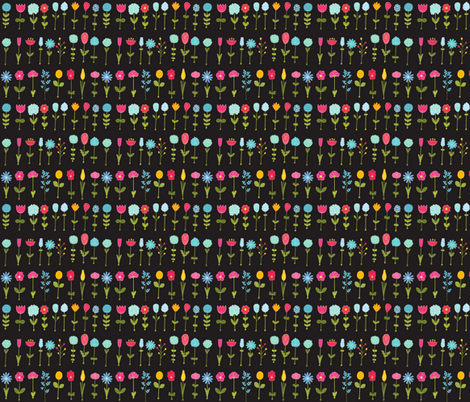 Flowers fabric by kostolom3000 on Spoonflower - custom fabric