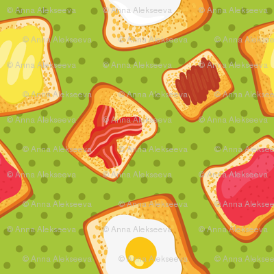toast pattern