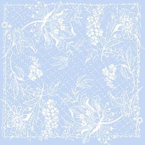 Damsel Floral Blueberry