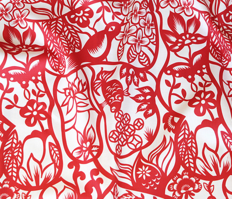 Chinese Paper Cut Pattern