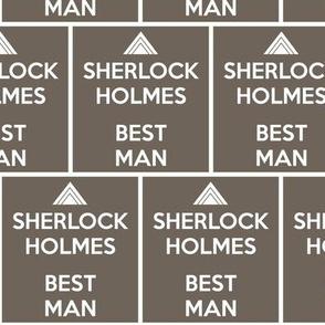 Sherlock Holmes, Best Man - panel