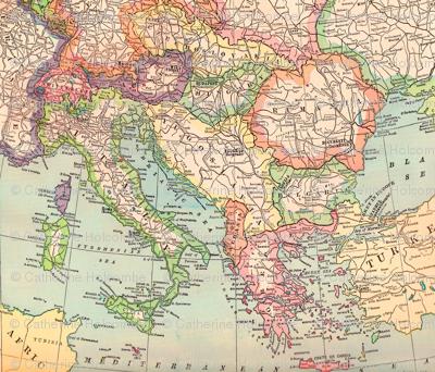 Italy and Eastern Eurpe Vintage