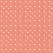 Arrow Diagonal Light Coral