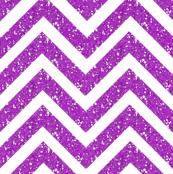 Chevron Sparkle glitter Stripes Purple/WHite medium