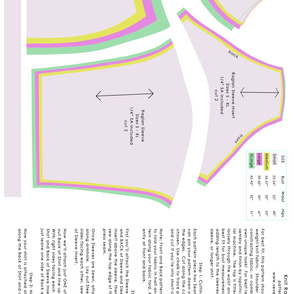 Raglan Sleeve Shirt Pattern & Instructions