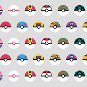 PokeDots - Pokeballs (large)