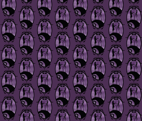 Nightmare before  fabric by sweetnsassygal on Spoonflower - custom fabric