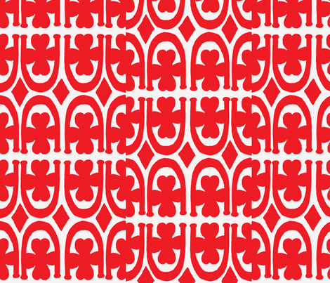 goodluck fabric by chovy on Spoonflower - custom fabric