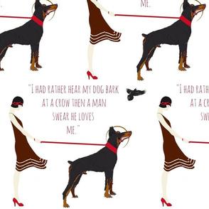 Hear my dog bark -