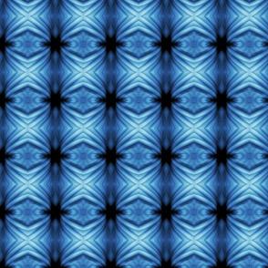 Bella Sphynx Wrinkles in Blue Columns