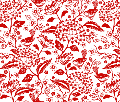 Window Garden fabric by jennartdesigns on Spoonflower - custom fabric