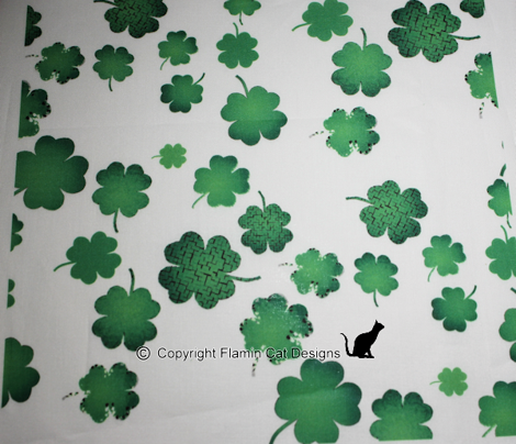 Lucky Green Clovers