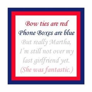 Sorry Martha