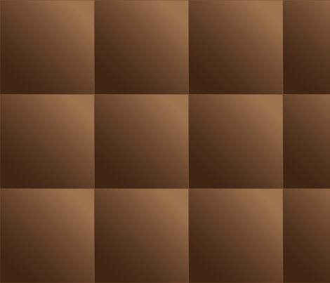 Mid Brown Gradient Tiles © Gingezel™
