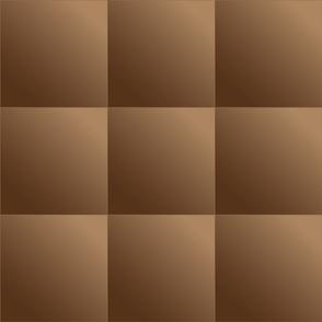Mid Brown Gradient Tiles © Gingezel™