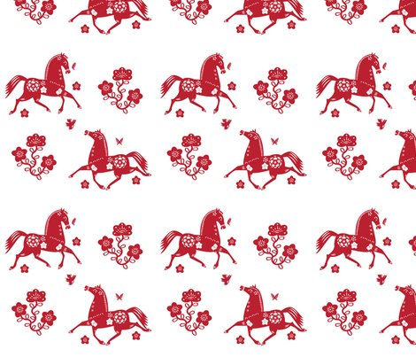 Rpapercut-horses-fabric-2color_shop_preview