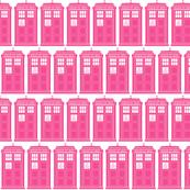 pink tardis