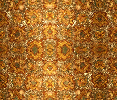 Hagia Sofia ceiling fabric by ampersandstudio on Spoonflower - custom fabric