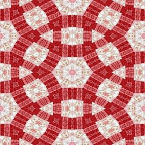 Patchwork in Red: Roundabout