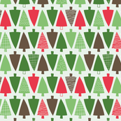 Christmas trees - colorway 4