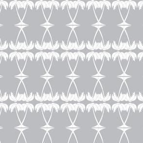 Palm Deco grey