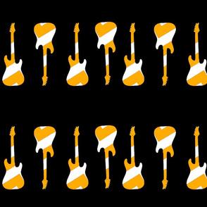 Striped Guitars Yellow