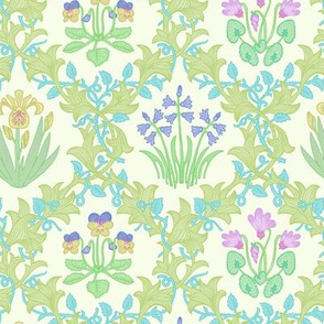 William Morris Inspired Botanical