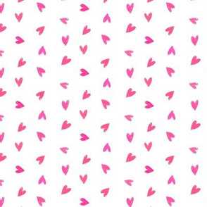 Ditsy pink hearts