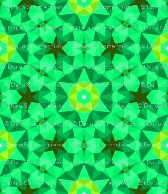 Green emerald sparkles