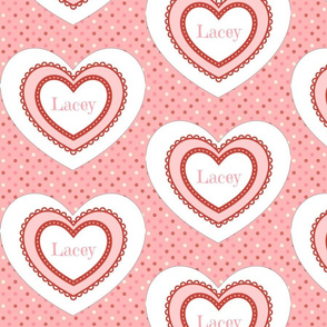 Dottie Hearts - Personalized