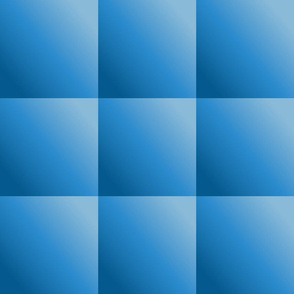 Simple Blue Gradient Squares © Gingezel™