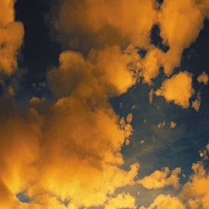 Heaven's Breath 27 Triptych-Top Panel