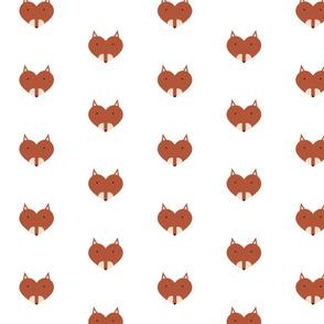 Woodland Friend Heart Fox