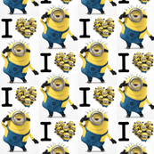 Bigger I Luv Minions Despicable Me