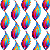 Paisley flame (small)