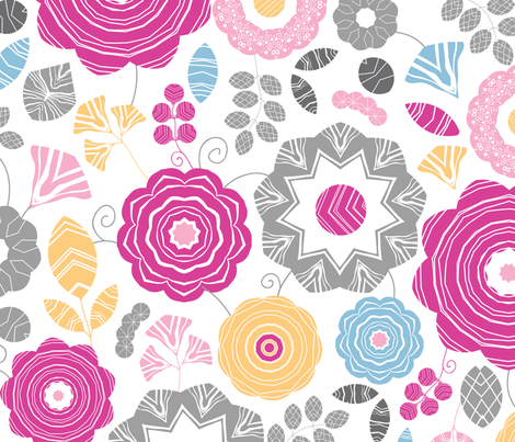 Gift_flowers_seamless_stock-Ai8-v fabric by oksancia on Spoonflower - custom fabric