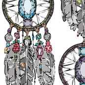 gemstone dreamcatcher