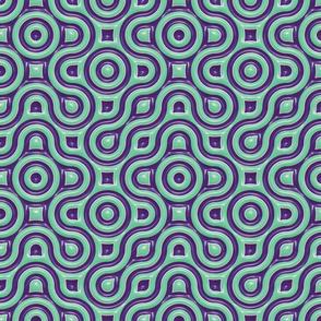 cyan/purple maze