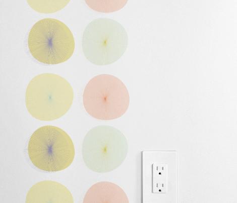 Pastel Dandelion Stripes by Friztin