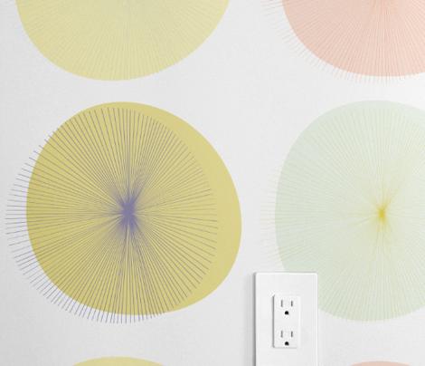 Pastel Dandelions by Friztin